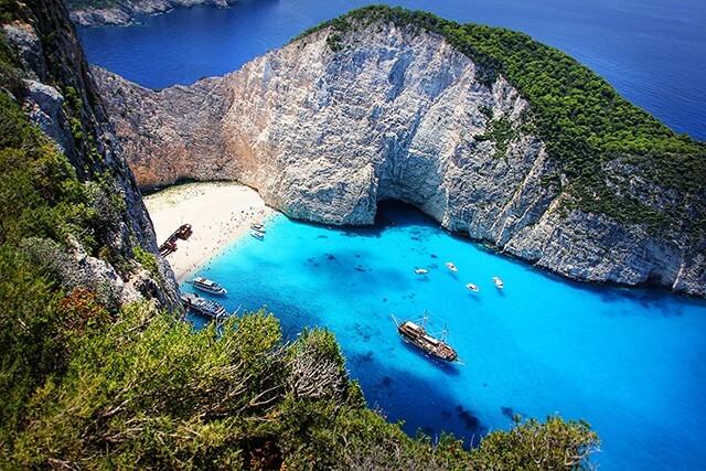 Peloponéský poloostrov, jih Řecka