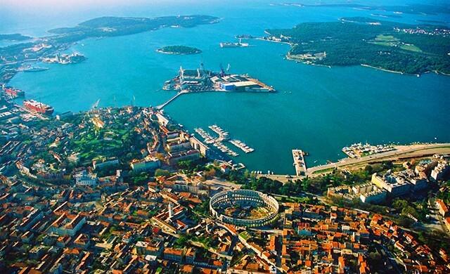 Moderní Pula, Chorvatsko