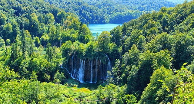 Plitvická jezera, Chorvatsko