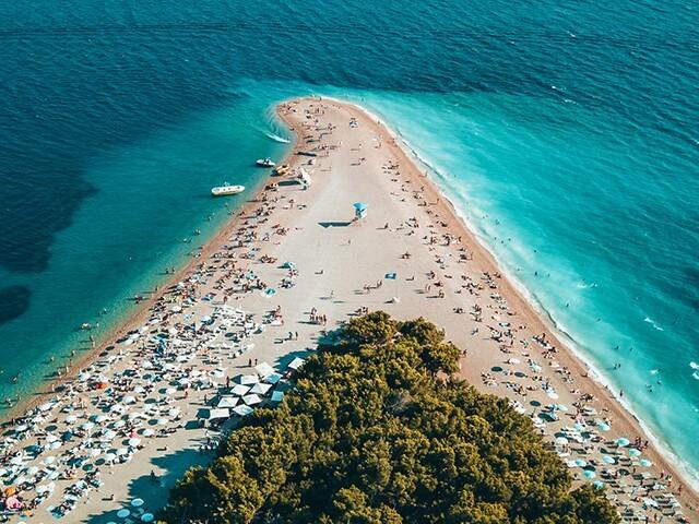 Část Zadarsko (veřejná pláž), Chorvatsko