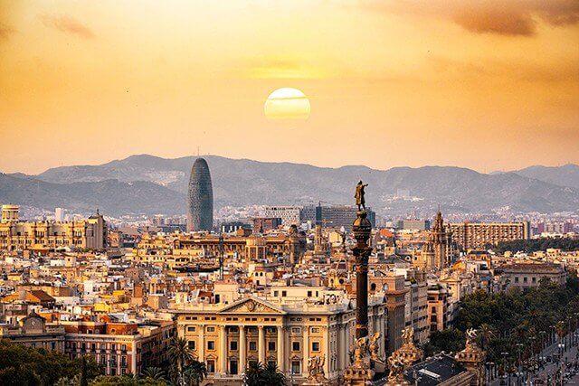 Barcelona, přední evropská metropole ve Španělsku