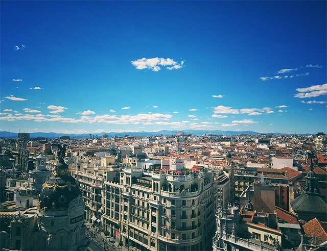 Hlavní město Madrid