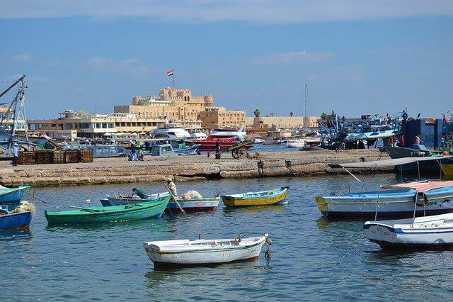Historické centrum Alexandrie